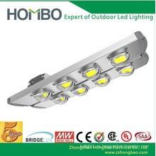 La luz de calle llevada de la alta calidad del hombo 180w ~ 240w super brillante COB llevó la lámpara al aire libre impermeable 5 garantía de la garantía del año la luz