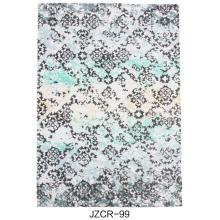 Microfiber Machine Carpet With Design