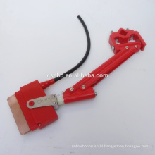 single pole insulated conductor bar current collector for crane