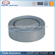 Customized Magnetic Assembly Zinc Coating Metal and Ferrite Pot Magnet D50 X 10 mm