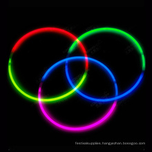 tri-color glow necklace in the dark