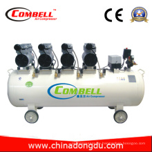 CE Geräuscharme ölfreie Luftkompressoren (DDW200 / 8A)
