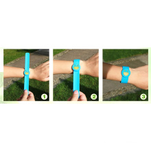 Adjustable 100% Citronella Silicon Mosquito Repellent Band