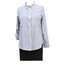 Ladies Woven Cotton Y.D Stripe Oxford Shirt