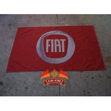 Bandera de coche Fiat 100% poliéster Bandera de 90 * 150 CM Bandera de Fiat