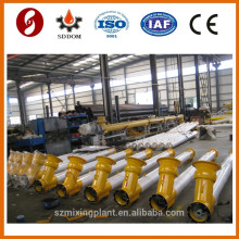 Concrere mxing plant used screw conveyor,spiral screw conveyor for silo cement