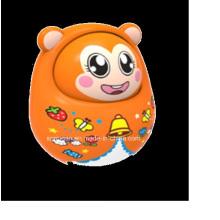 Good Quality Plastic Baby Toy Monkey Tumbler