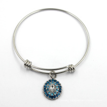 Fashion Stainless Steel Imitation Jewelry Bangle Charm Bracelet