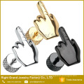 Hot Selling Body Jewelry Stainless Steel Fake Ear Plugs Middle Finger Plug