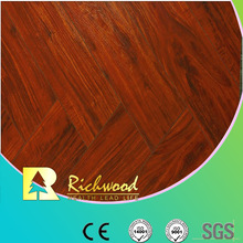 12.3mm Embossed Elm Waxed Edged V-Grooved Lamianted Flooring