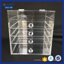 Custom Clear Makeup Organizer with Drawers