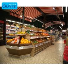 Fruit Vegetable Display Rack Supermarket Shop Fitting Vegetable Rack Food Supermarket