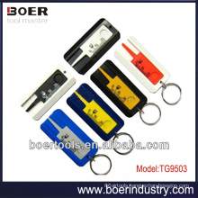 Tire Tread Depth Gauge ruler type withkeyring
