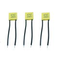 Hot Sale Small Yellow 275VAC X2 Metallized Polypropylene Film Capacitor Topmay -2