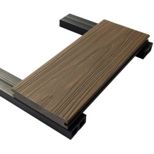 China Suppliers Extruded Plastic Composite Decking For Outdoor