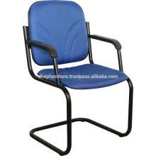 Oficina Metal banquete / silla de visitante con asiento de cojín