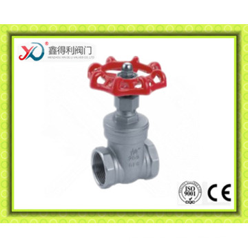 New Design Stainless Steel CF8/CF8m Gate Valve with NPT Thread