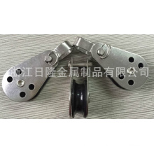 Stainless Steel Pulleys with Nylon Single Wheel