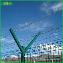 Good Quality New Design cheap metal fencing for house/ park/industrial area/ Courtyard, airport security fence