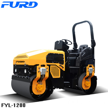 Hydraulic Vibration Two Wheels Road Roller Machine