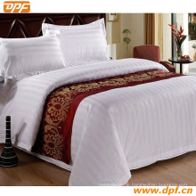 100% Polyester Customized Hotel Bed Scarf (DPF2665)