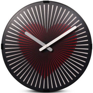 Motion Heart Wanduhr zur Raumdekoration