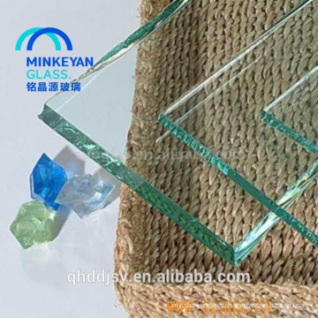 12mm starke ausgeglichene Glasplatte für Hausraumbalustrad