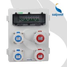 SAIP / SAIPWELL Nouveau boîtier de prise de courant en plastique étanche et portable