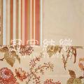 Микро-замша для дивана, ткань с цветочным узором