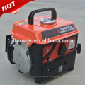 Generador de gasolina pequeño de 2 tiempos y 650 vatios