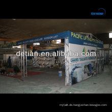 Tragbare Dachstuhlsysteme mit TÜV-Zertifizierung
