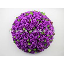 2014 высокое эмуляции красивый искусственный висячие цветок мяч для свадебного декора