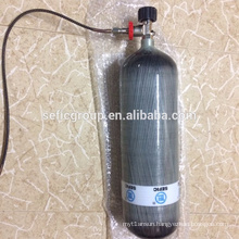 Composite Cylinder Tank Oxygen Respirator with Valve 3litre 6.8litre 9litre High Pressure Carbon Fiber Carbon Fiber/ Aluminum