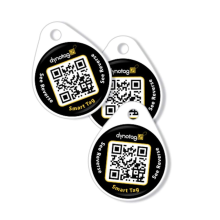 Smart Round Dog ID Tag