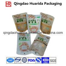 Hersteller-Großverkauf-kundenspezifisches Drucken lamelliertes materielles Plastikverpackungs-Tasche