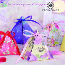 Paper Packing Box For Wedding Favors Gift