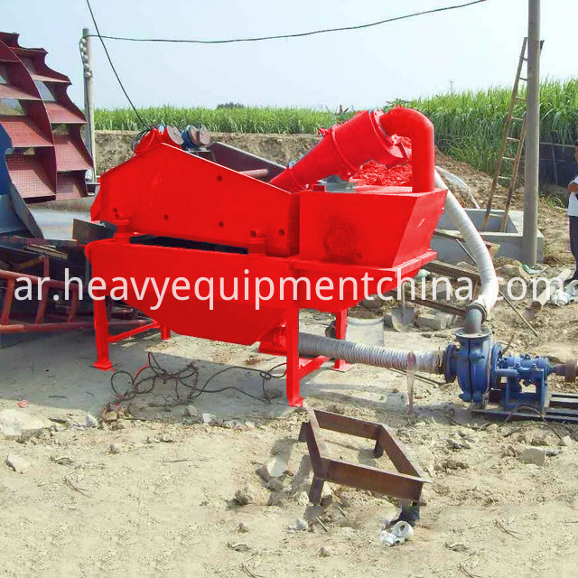 Sand Recycling System