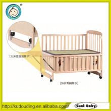 Eco-friendly baby wooden bed