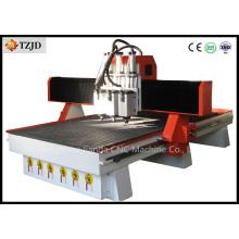 Machine à rouleaux CNC pneumatique Atc Woodworking avec trois broches