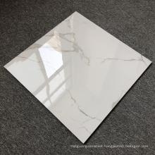 Super White Marble Ceramic Tiles Indoor Carrara Wall Foshan Porcelain Mirror Tiles Factory Price
