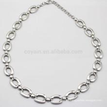 Cadenas de plata simples del collar de la nueva joyería artificial 2015 Bulk China