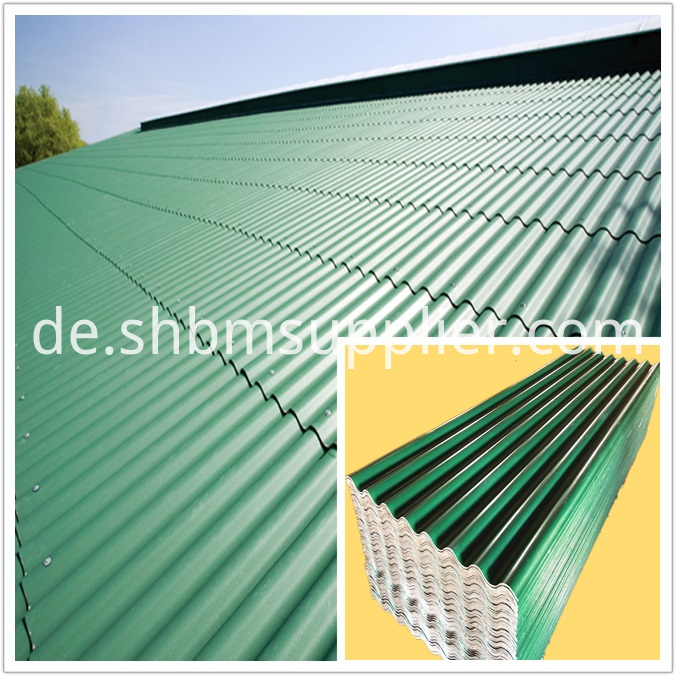 Fire-proof Anti Corrosion PET Foil MgO Roofing Sheet