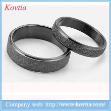 couple ring black ring 316L stainless steel gold black plating couple ring
