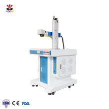 Cheap 20W stainless steel carbon steel iron aluminum copper brass metal fiber laser marking machine price for sale