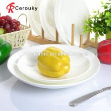Керамическая плита белая белая фарфоровая тарелка