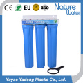 Filtro de Água Azul de Três Estágios