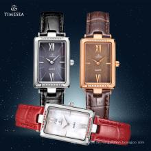 Neue Mode Damen Edelstahl Uhr 71082