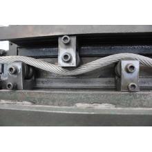 Cuerda de alambre de acero inoxidable 316 7x7 5.0mm