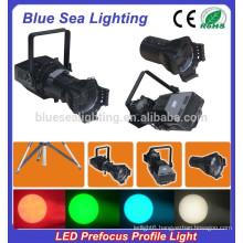 200W LED white / 4IN1 prefocus profile spot theater light