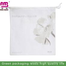 Тренажерный зал мешок с изготовленным на заказ логосом для подарка дешевые оптовые ткань мешок drawstring хлопка